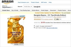 Bangkok Basics - 101 Tips in the Kindle Market