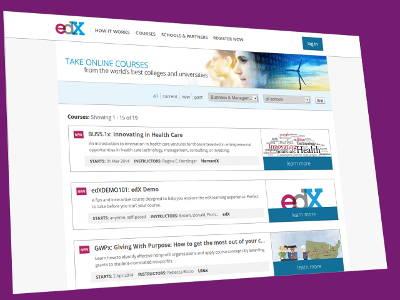 edX screenshot